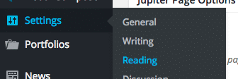 Settings Reading Pagination Problem
