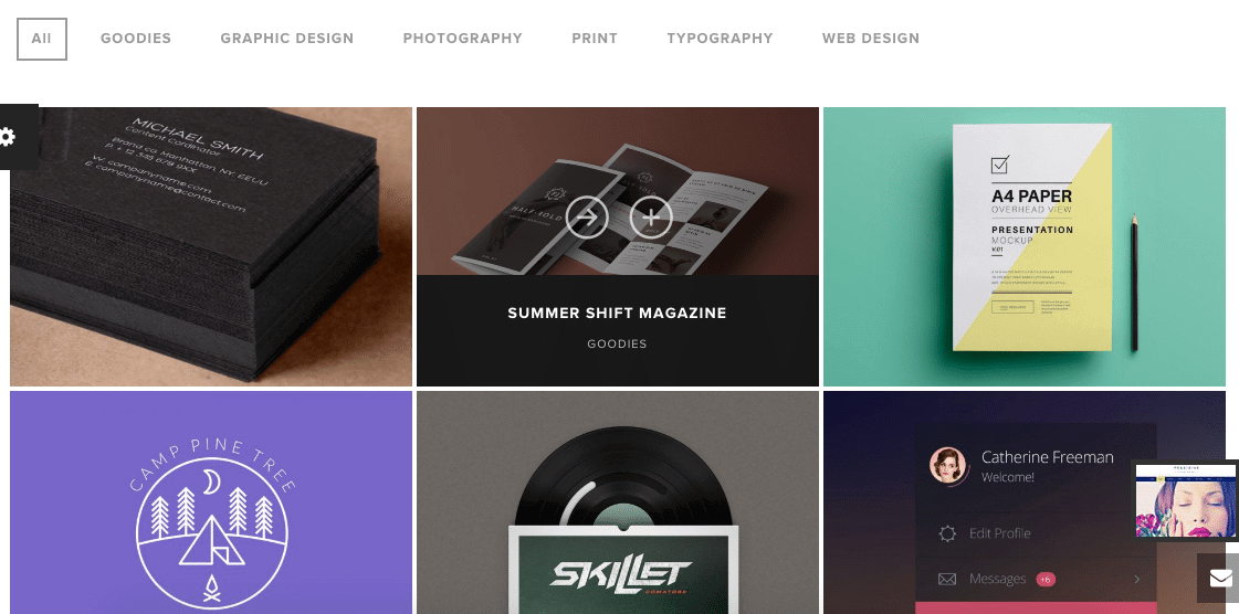 Standard Website Portfolio