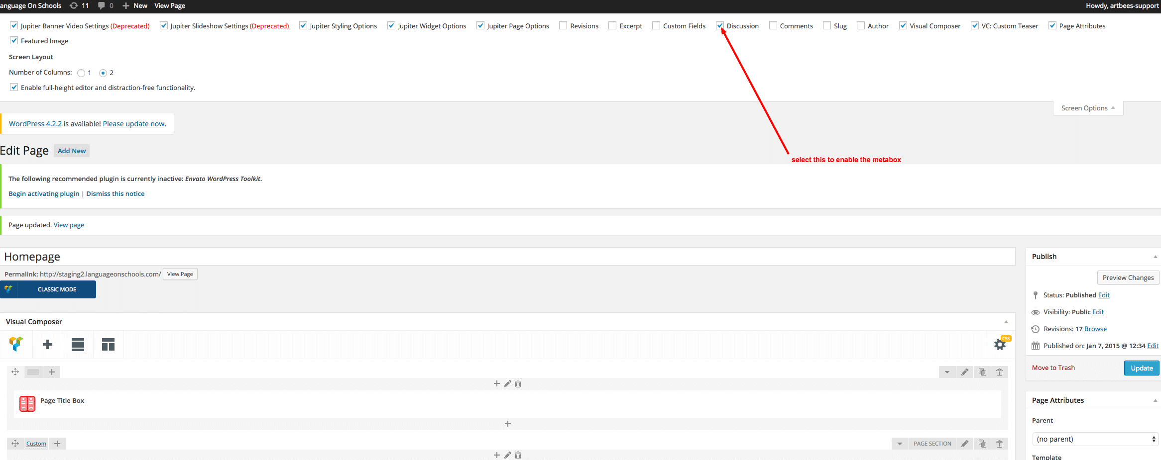 Comments not showing