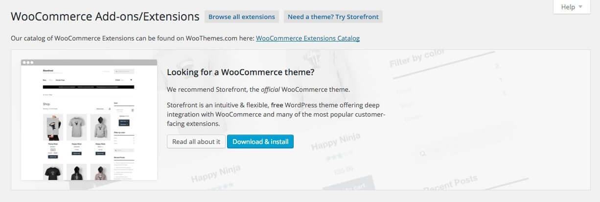 Woocommerce Options - Add-ons