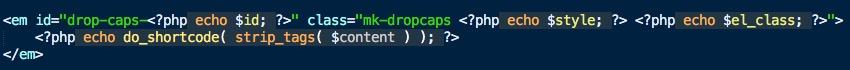 Customize Jupiter Shortcodes Changing the Code 2