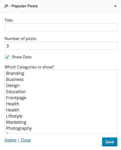 Widgets Popular Posts