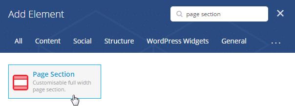 Adding a sidebar - shortcode search