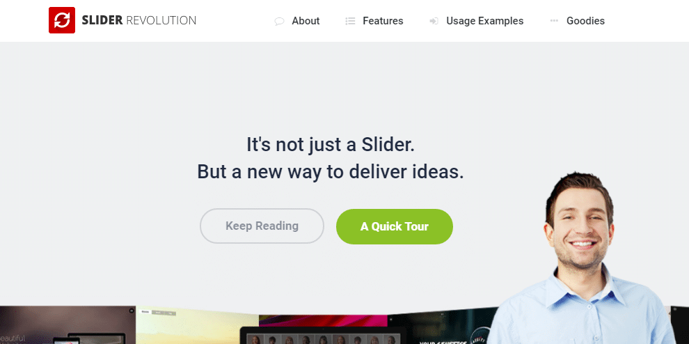 Premium sliders - slider revolution