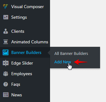 banner builder shortcode