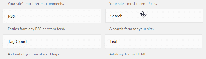 Configuring search box - Search widget