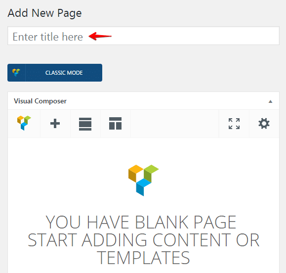 Displaying blog posts - enter a title