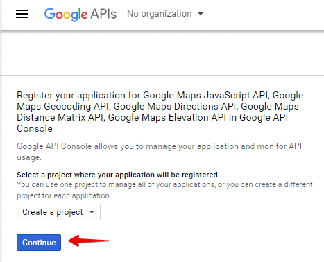 Advanced Google Maps shortcode - getting api