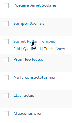 Configuring tags - tags to posts