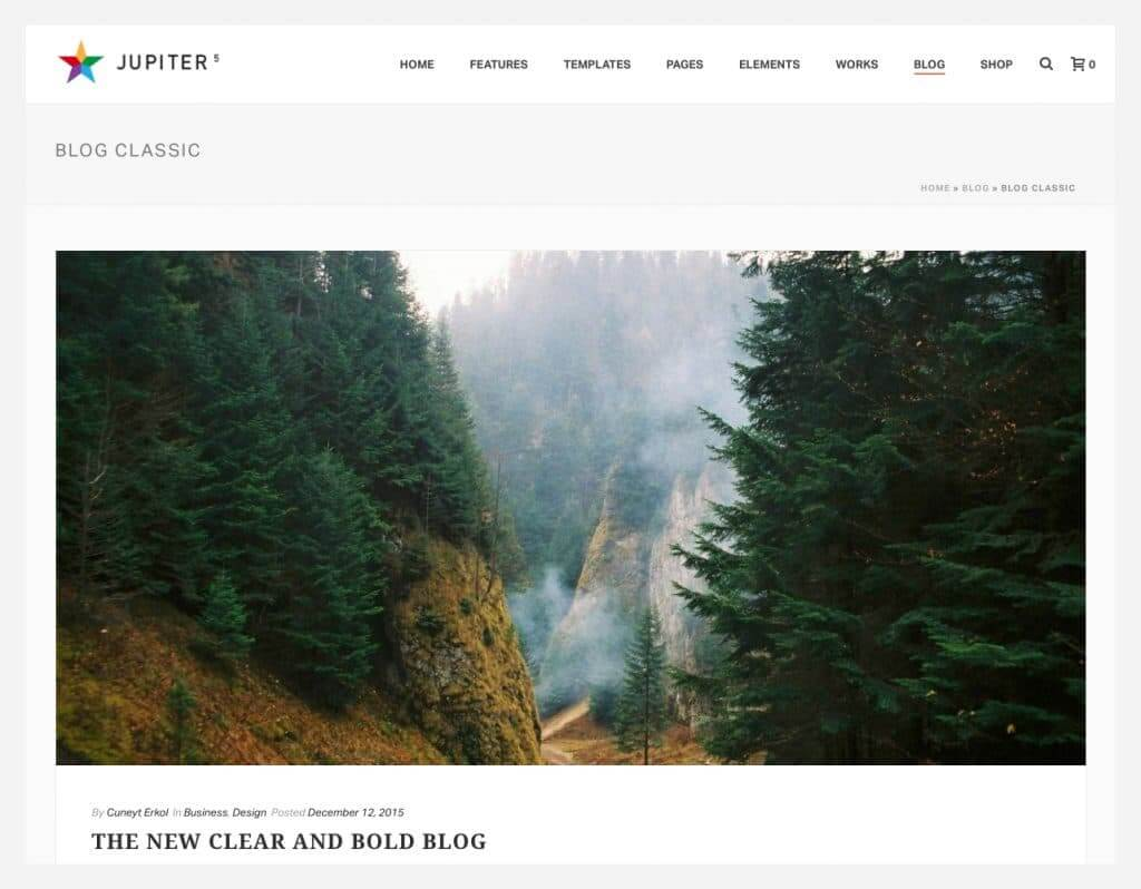 How To Choose A Blog Page Layout In Jupiter For Your Wordpress Website
