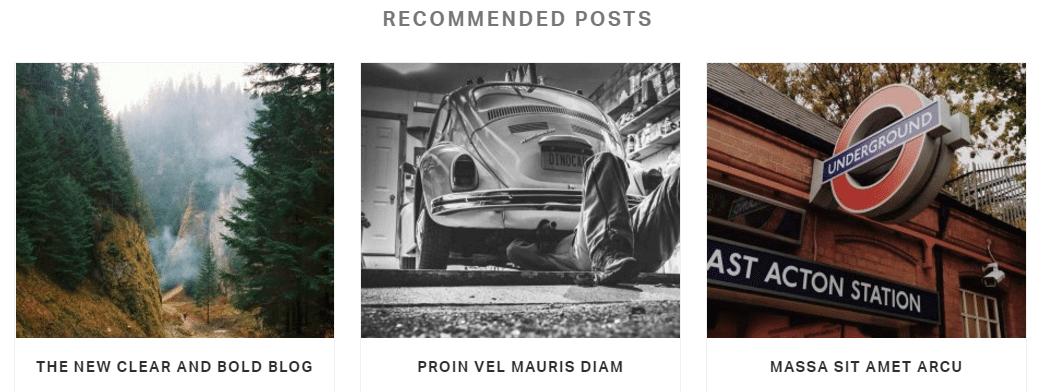blog settings