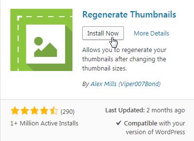 regenerating thumbnails
