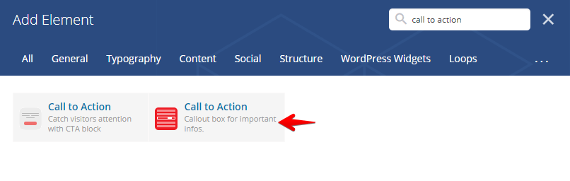 call to action shortcode