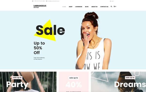 Wordpress theme templates for businesses agencies artists shops choose a wordpress theme template to start with accmission Images