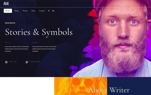 jupiter WordPress theme template Alcmene