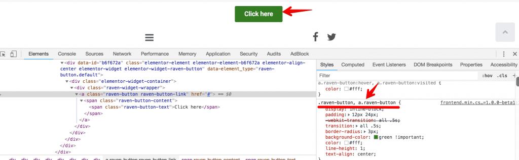 Customizing the elements using Custom CSS - WordPress