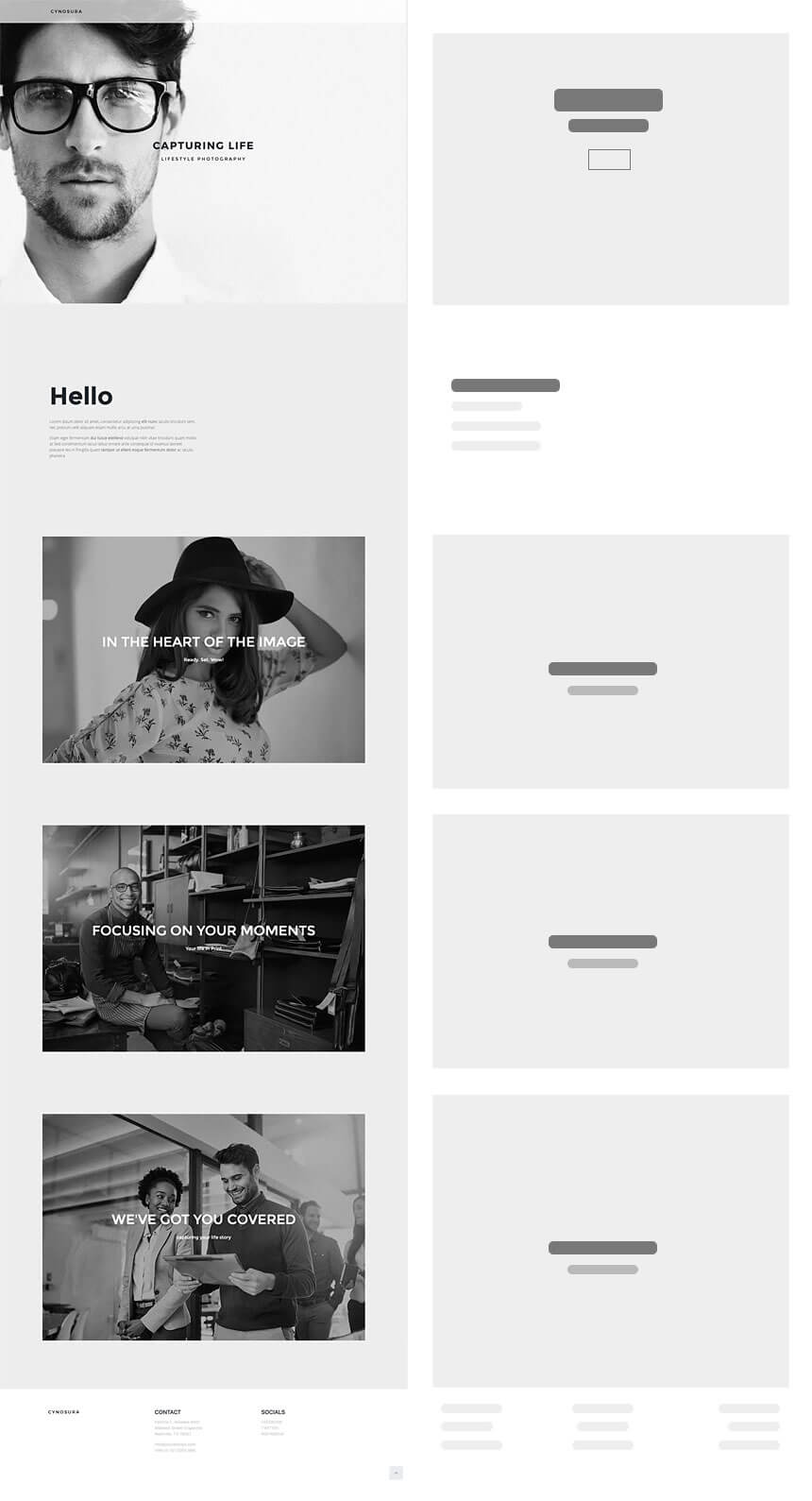 Ideal Photography Website Cynosura