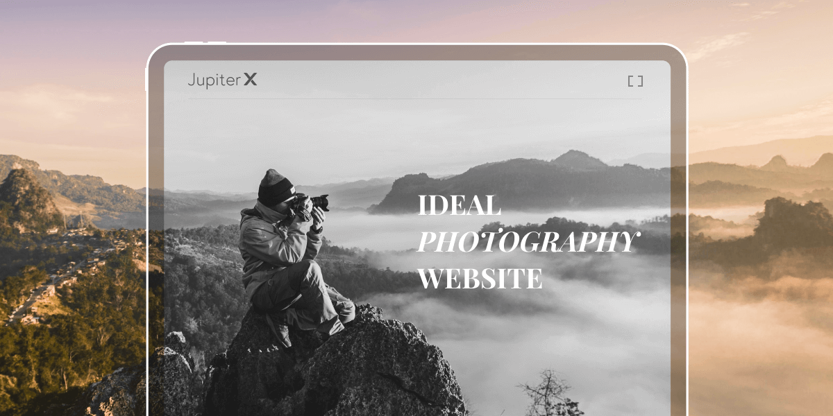 Ideal Photography Website Featured Image