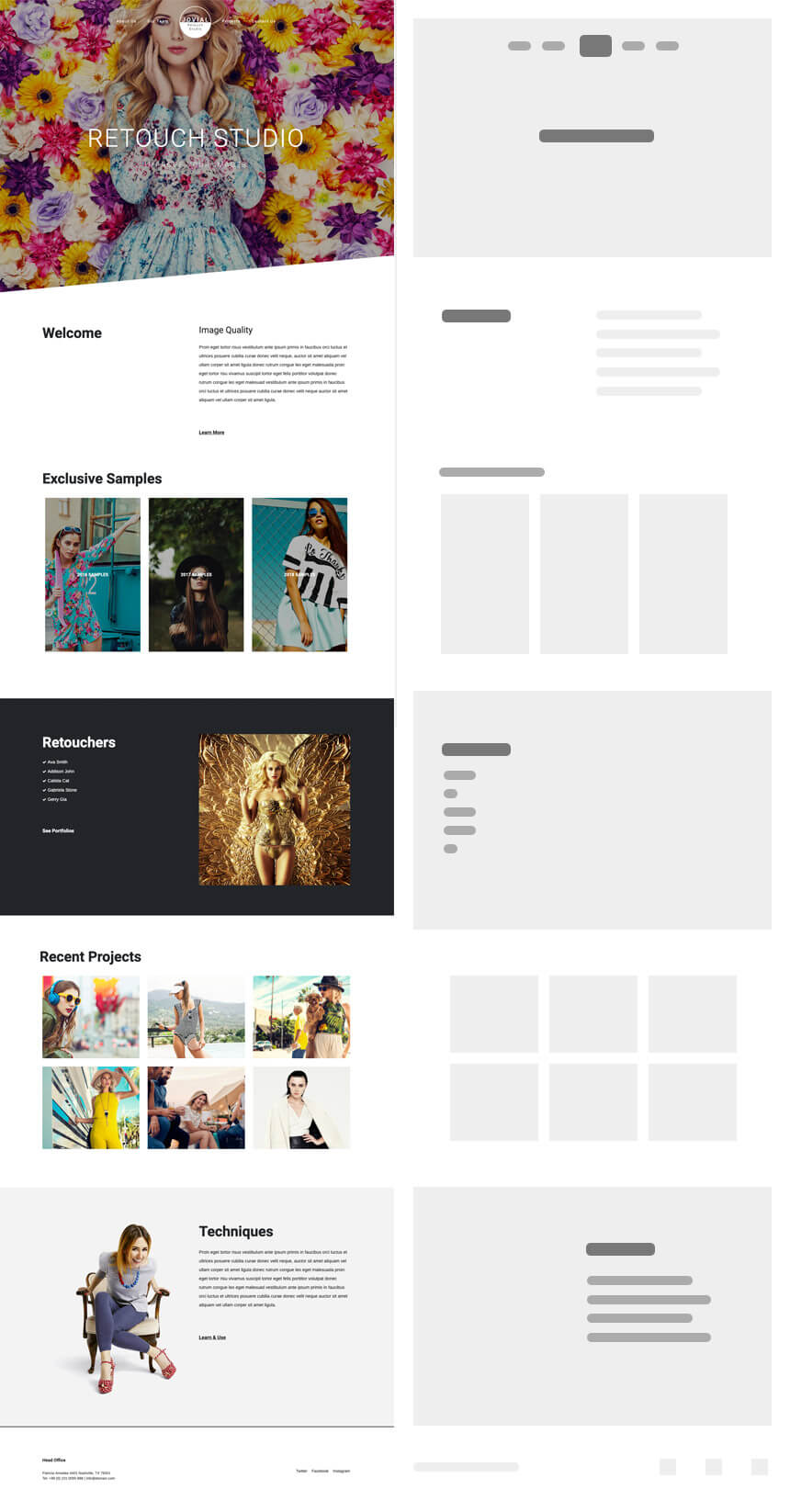 Ideal Photography Website Jovial