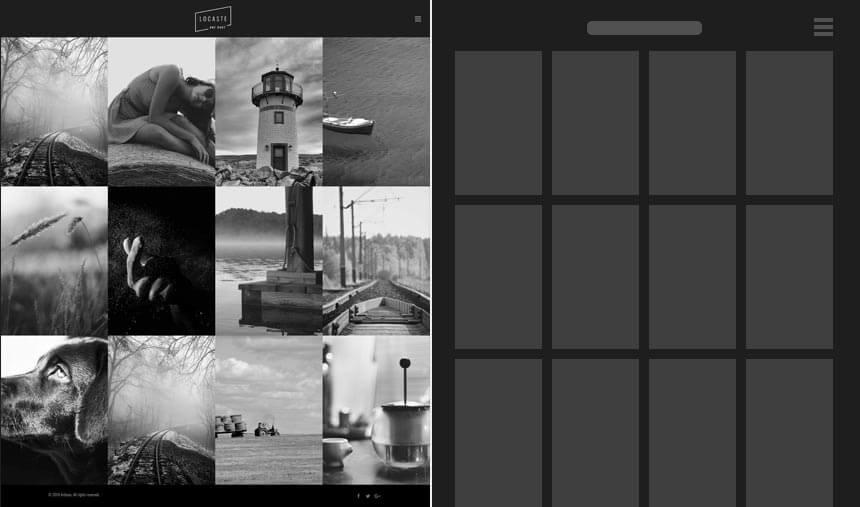 Ideal Photography Website Locaste