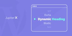 dynamic headings in Elementor featured